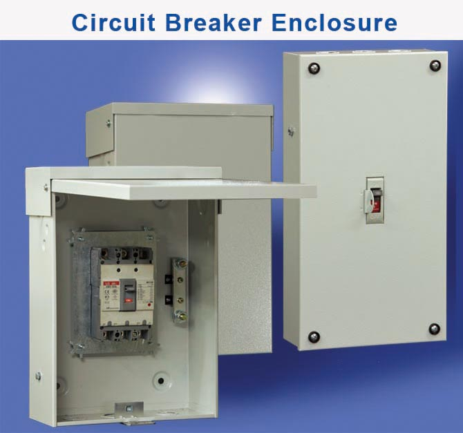 Wall Mount Circuit Breaker : Ace enclosures products two section wall mount quot rack